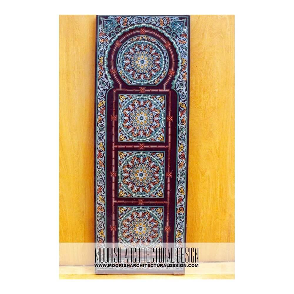 Mediterranean Closet Design Ideas Moroccan Front Door