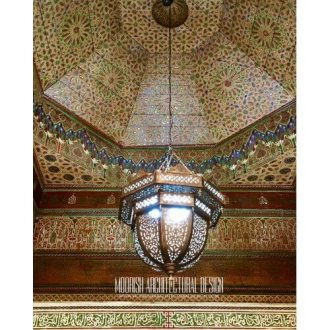 Large Moroccan style pendant light Traditional Moroccan Pendant 48