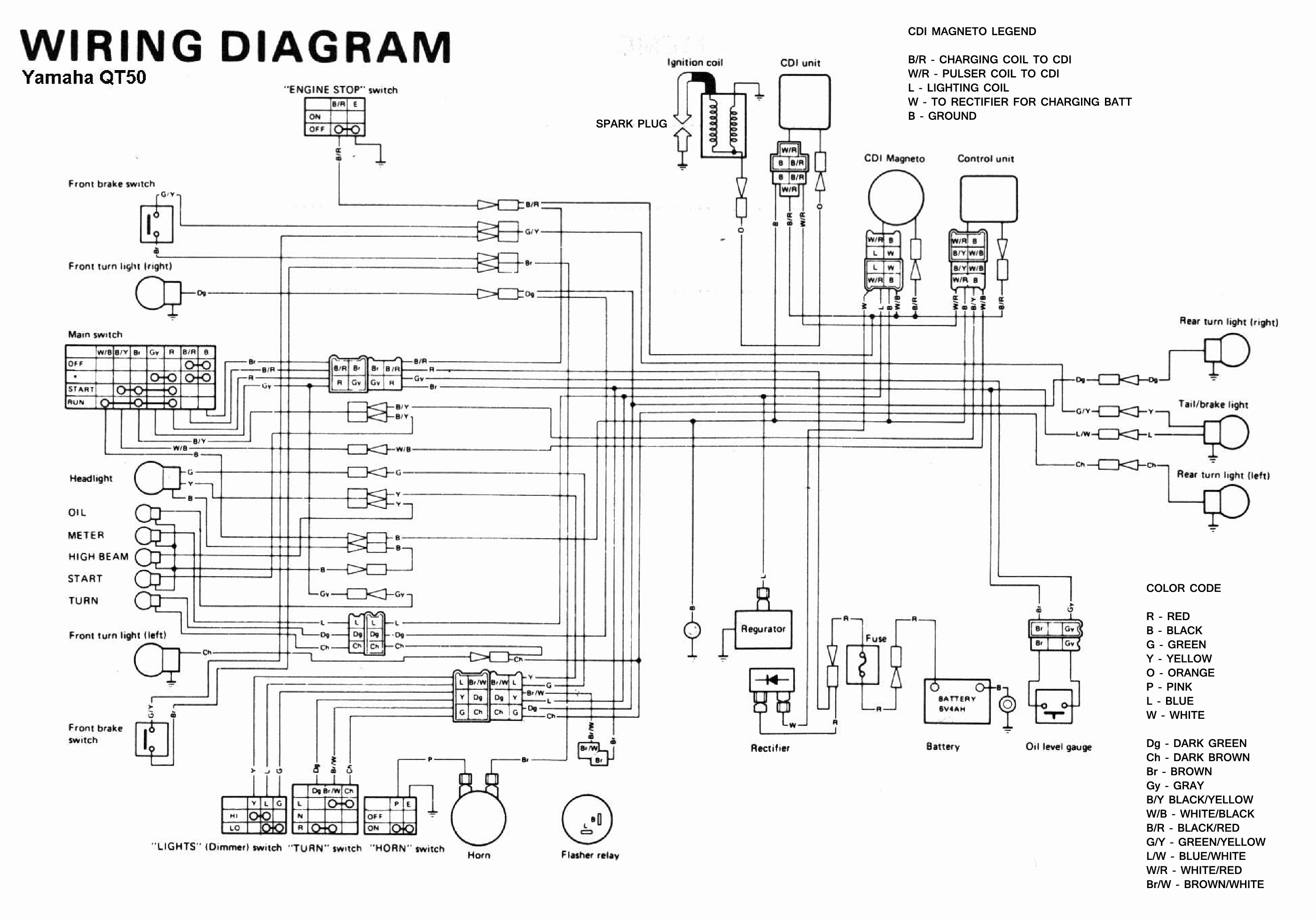 Yamaha Maxim Wiring Diagram Detailed Schematics Schematic 1980 Sr250 1998 R1
