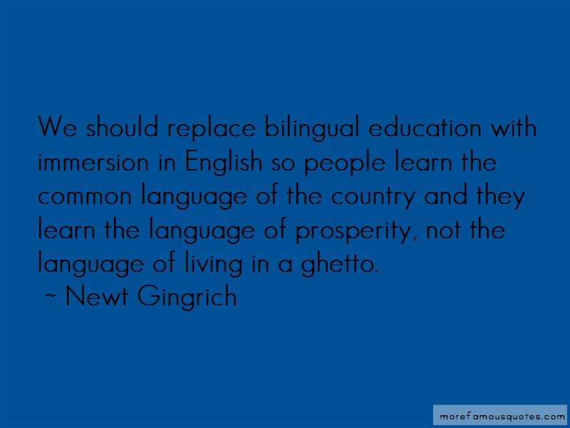 Bilingual Education Quotes