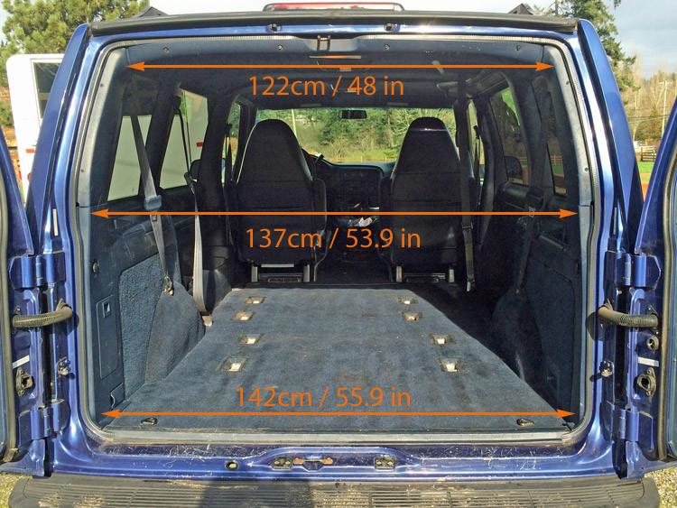 Gmc Safari / Astro Van Interior Measurements For Minivan
