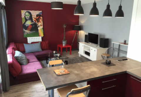 Furnished apartments in Nantes Great T2 Nantes Town Center   new