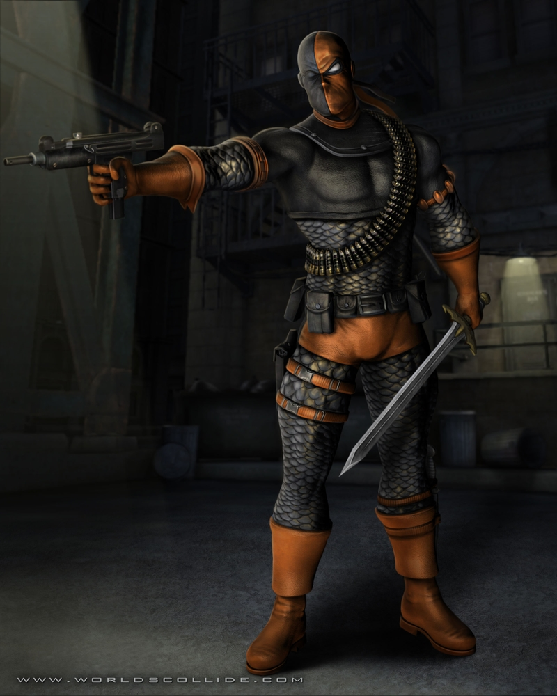 Mkwarehouse Mortal Kombat Vs Dc Universe Deathstroke