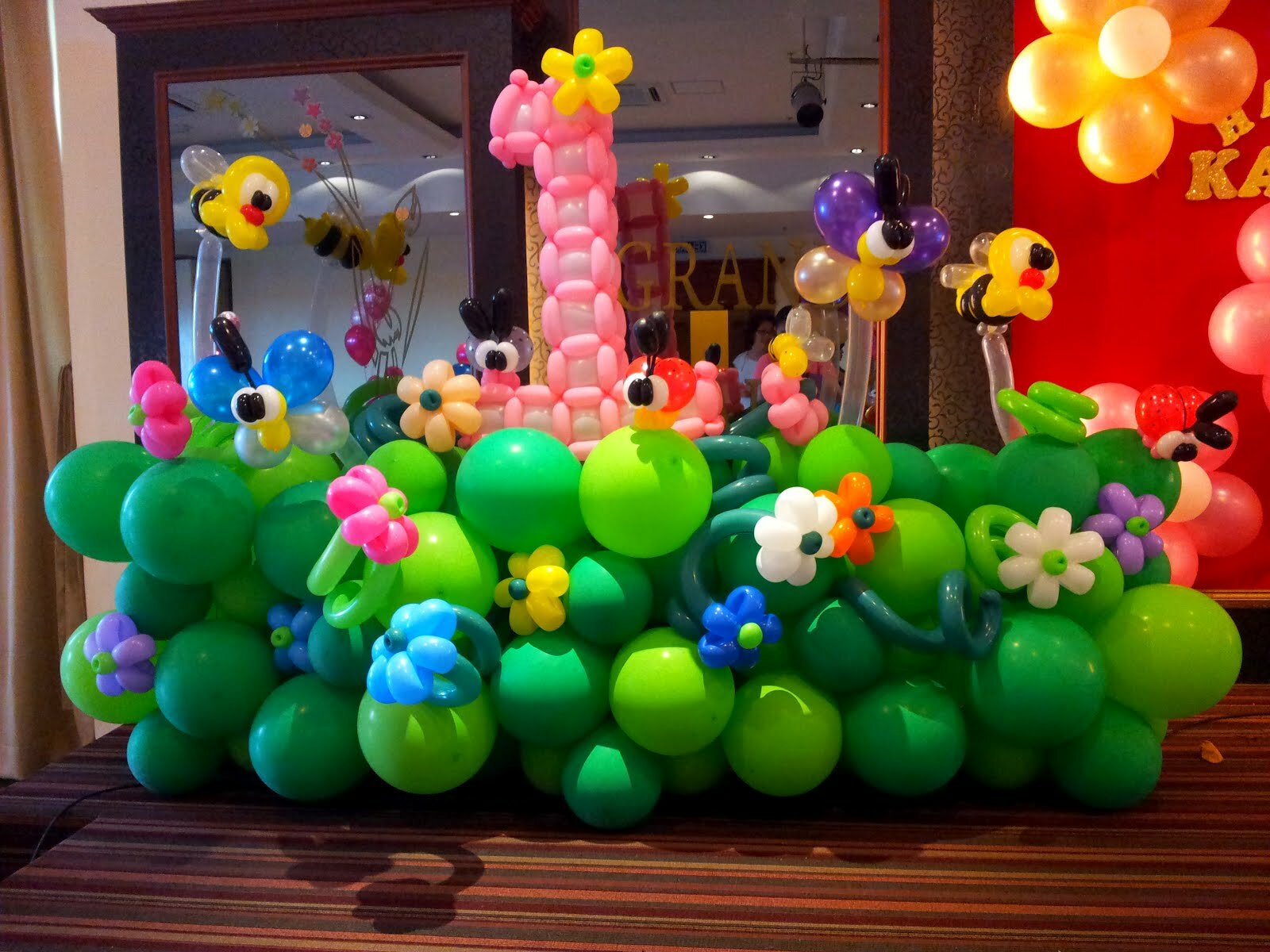 Balloon Decoration Birthday Party Home