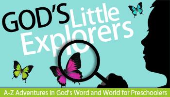God's Little Explorers Preschool Curriculum Digital ...