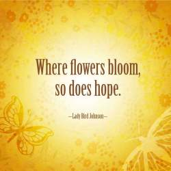 Hope Quotes Flowers Gardening Flower And Vegetables
