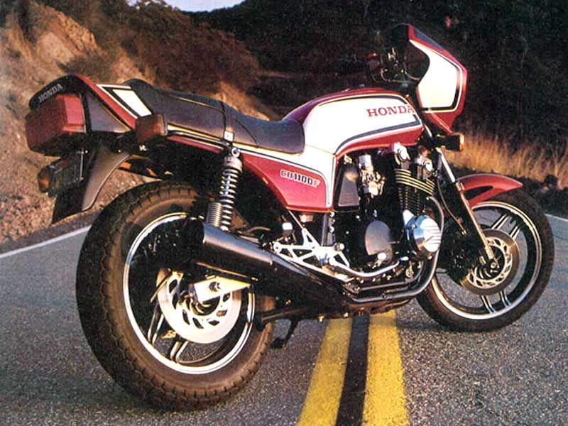 Honda CB 1100 F (reduced effect)