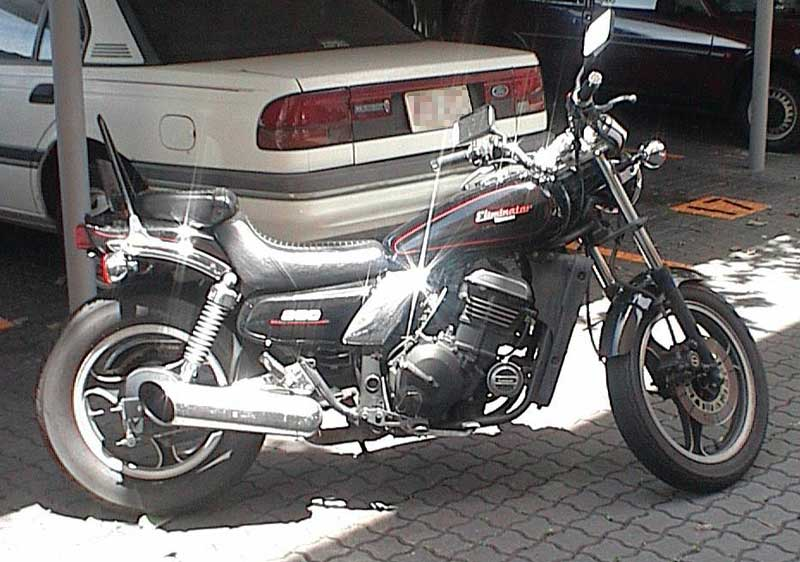 Kawasaki EL 250 (reduced effect)