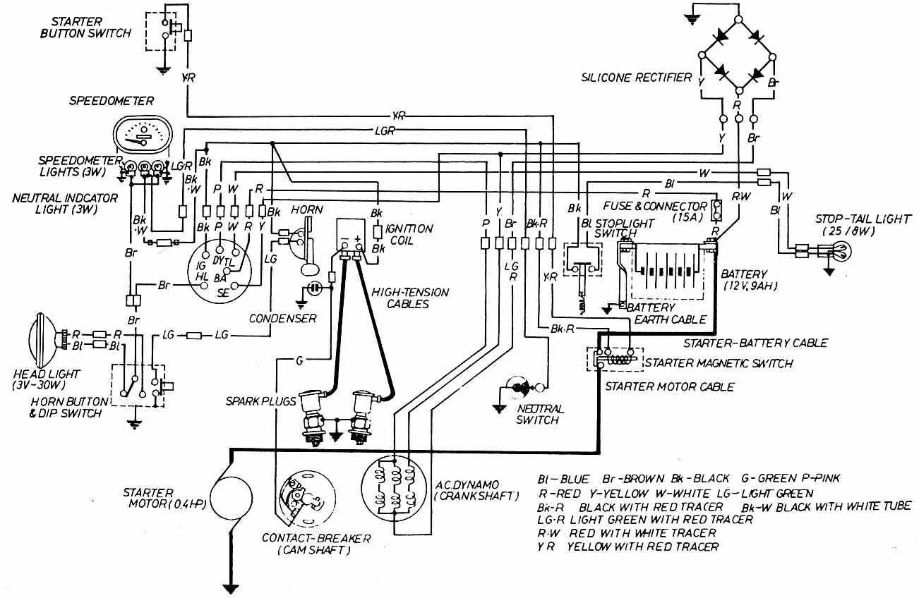 1979 Honda Cb650 Cafe Racer Wiring Diagram