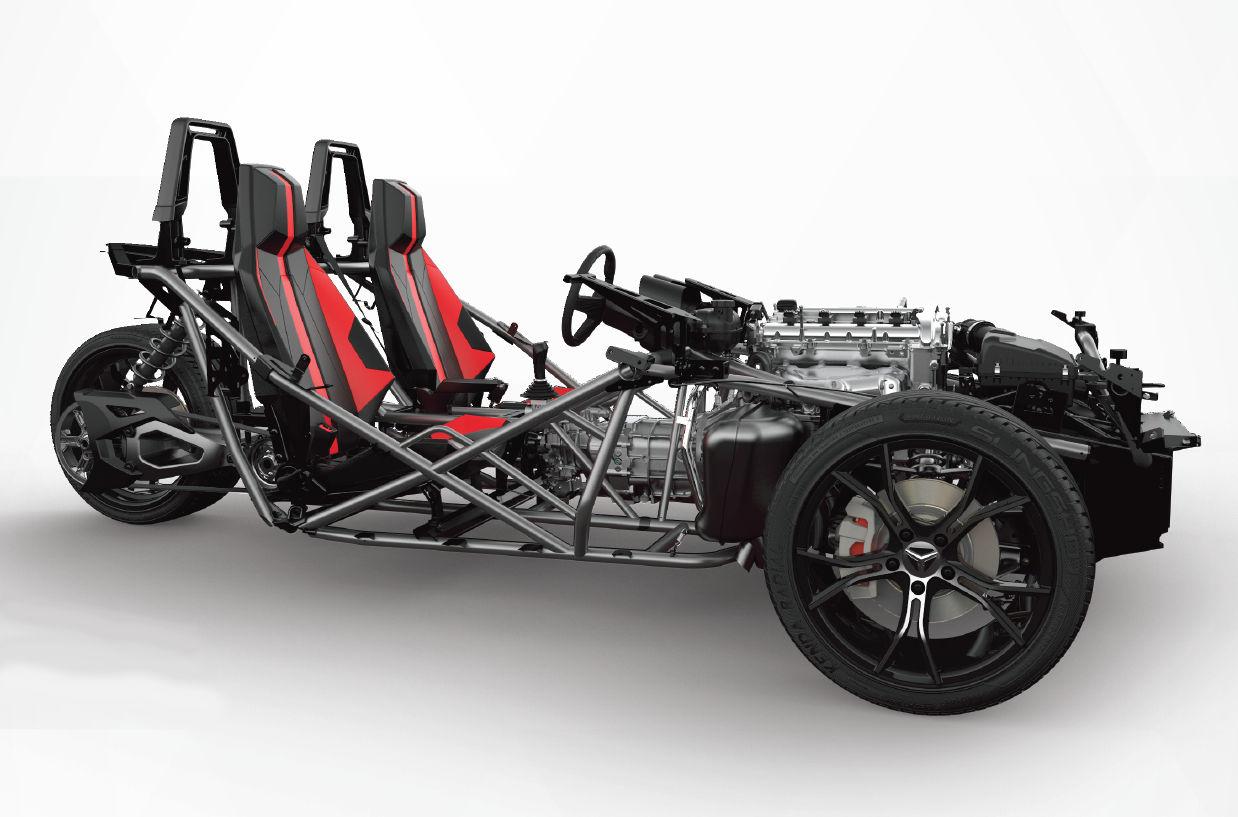 3 Wheel Motorcycle Frames