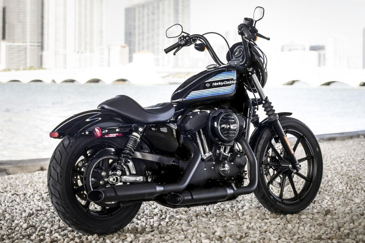 Harley Davidson Sportster Iron 1200 Modelljahr 2018 Bike