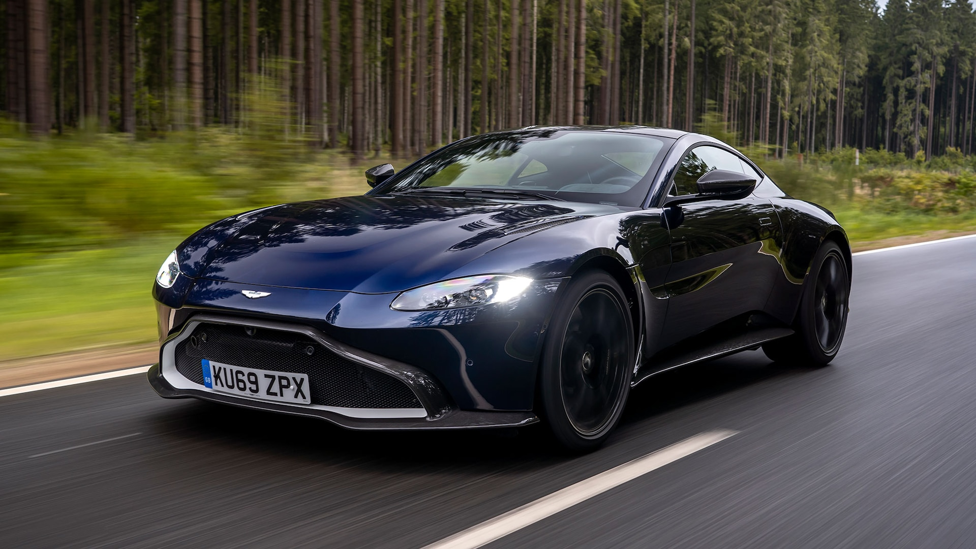 2020 Aston Martin Vantage AMR Manual First Drive Review ...