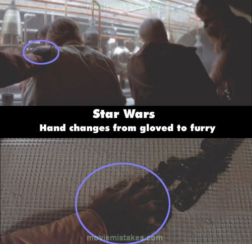 Wars Continuity Mistakes Star