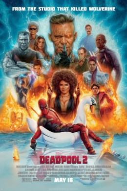Deadpool 2 Movie Times   Showbiz Kingwood Deadpool 2 Poster