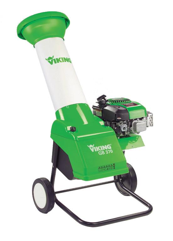 Petrol Leaf Shredder