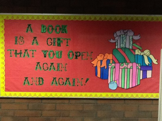 What Are You Reading Bulletin Board