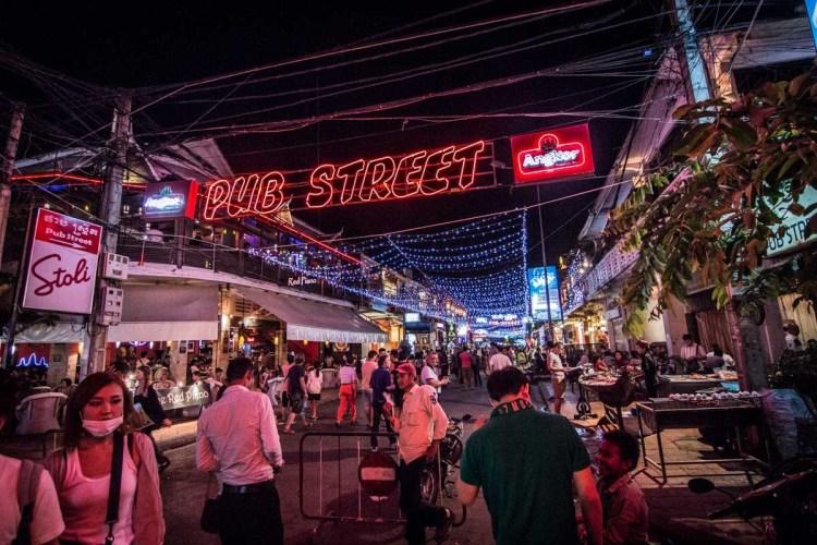 吳哥窟 PUB STREET