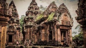 女王宮 Banteay Srei