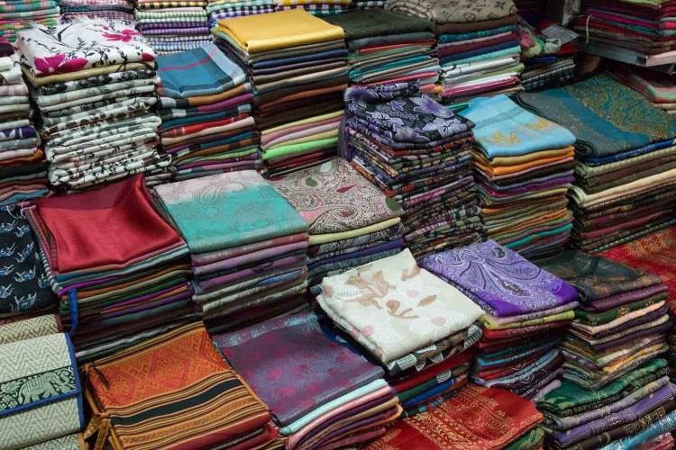 柬埔寨絲織品