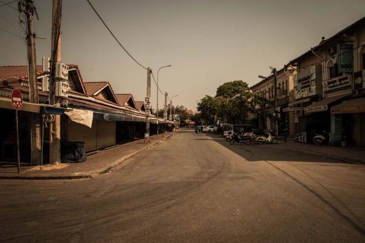 柬埔寨新冠肺炎特別報導 - 暹粒老市場