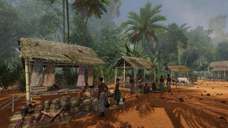 吴哥 13 世纪时的市集
