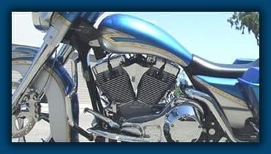 Custom Harley Motor Mount