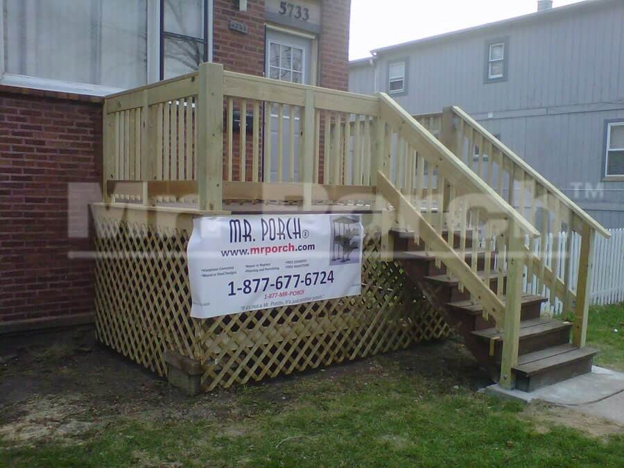 Mr Porch Com – Chicago Porch Deck Builders Since 2008 | Repairing Outdoor Wooden Steps | Stair Stringer | Concrete Slab | Deck Stairs | Concrete Porch | Deck