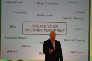 Create your internet footprint