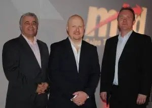 Mark Williams, Sean McPheat and Simon Hazeldine