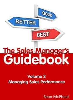 Sales Manager's Guidebook Volume 3
