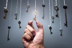 Choosing the key to success