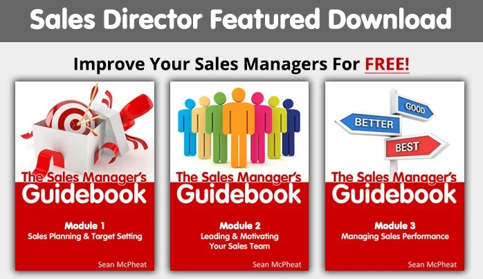 Salesdirector 3 boxes