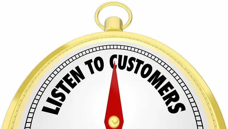 Listen to customers digital dial
