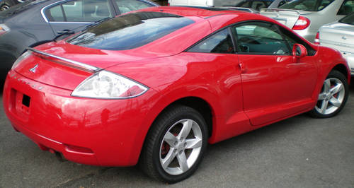 2006 Mitsubishi Eclipse Gs Red 35k Miles 2dr Auto Incl
