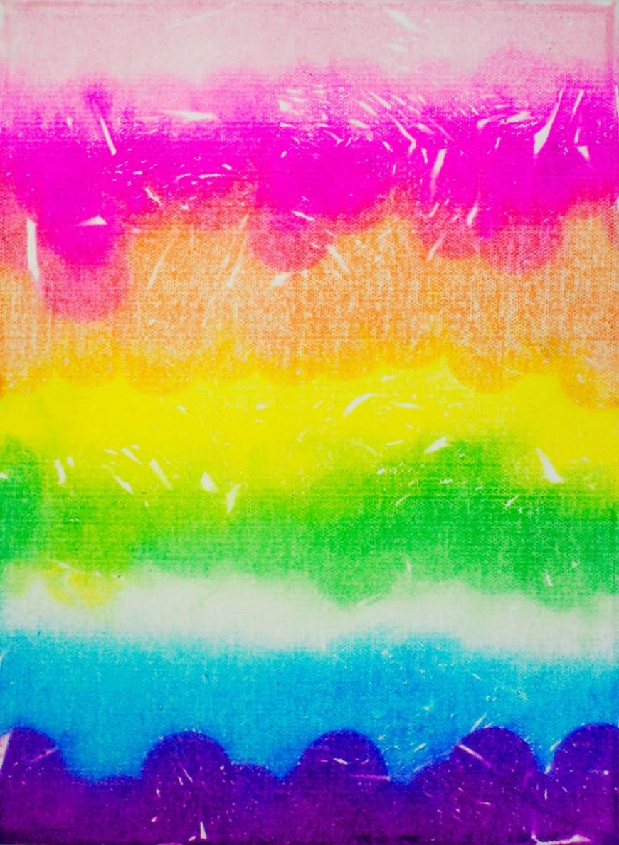 Rainbow Art Tissue Paper
