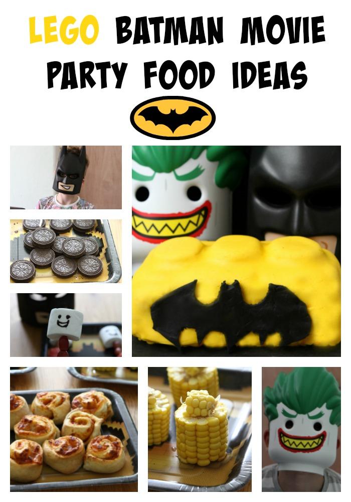 Lego Batman Movie Party Food Ideas Mummy Mishaps