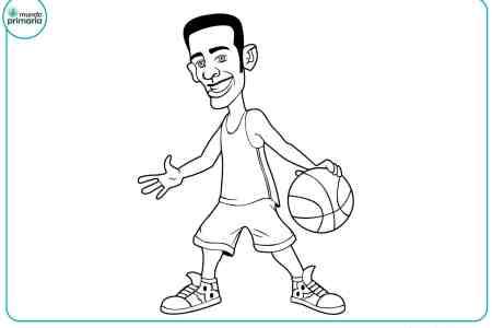 best Imagenes De Jugadores De Baloncesto Para Colorear image collection
