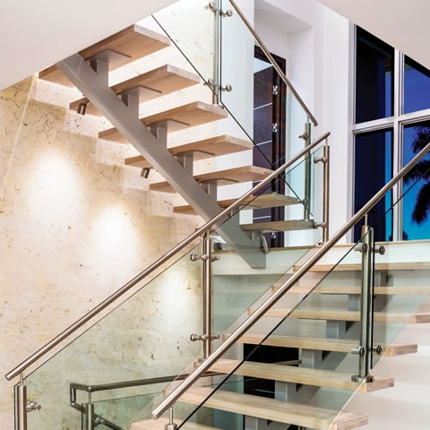 Mid Century Modern 3 205 Custom Home In Longboat Key Modern | Mid Century Modern Stair Handrail | Vertical | Decorative | Fixer Up | Living Room | Contemporary Curved Staircase