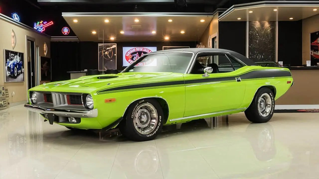 1973 Plymouth Barracuda Muscle Car Facts