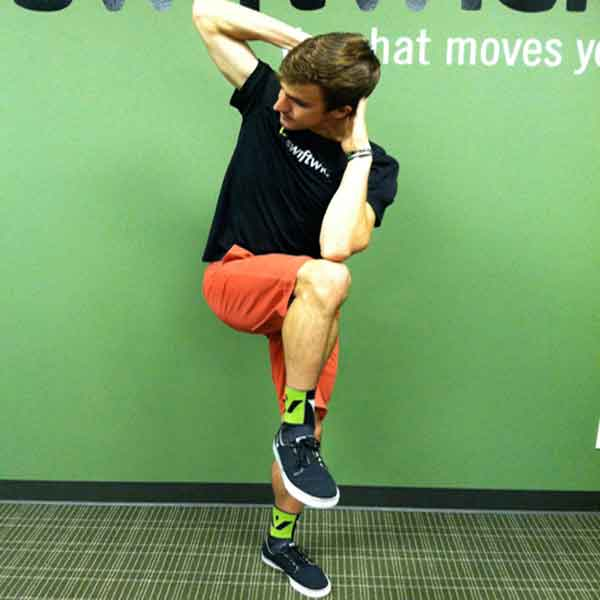 Standing Bicycle Crunch The Best Abdominal Exercise