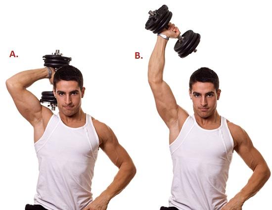 French Press Arm Exercises