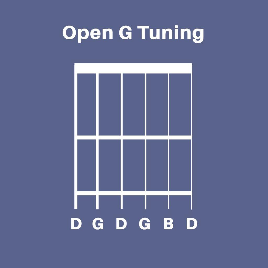 Open D Tuning Guitar Chords