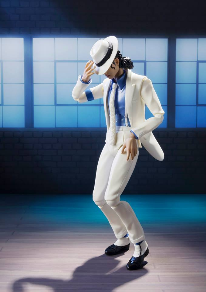 Michael Jackson Smooth Criminal Doll by S.H. Figuarts ...