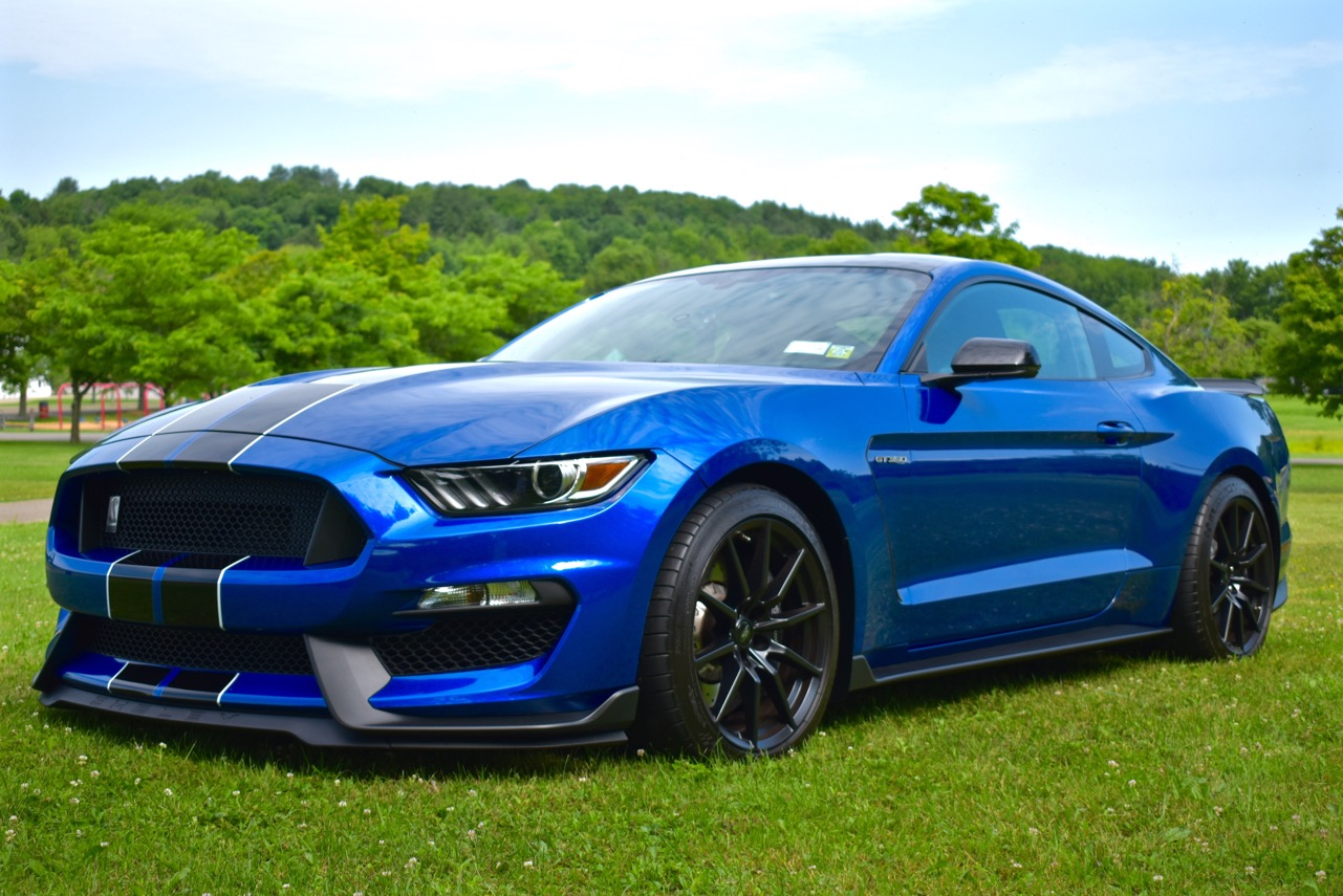 2017 Shelby Mustang Blue