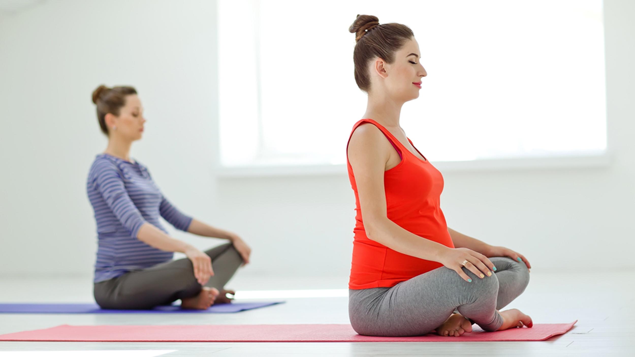 Hamilelik ağrılarına spor iyi geliyor
