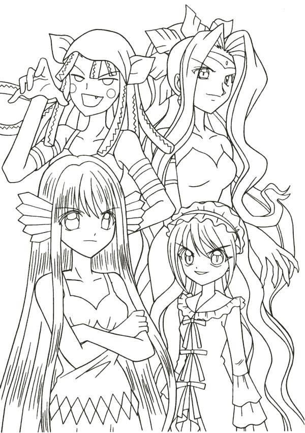Coloring Pages Mermaid Melody Picture 5
