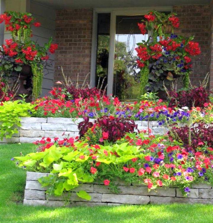 Tall Outdoor Flower Pots