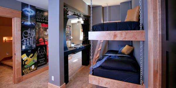 18 Funky Bedroom Ideas That Perfectly Fit Young Teenagers