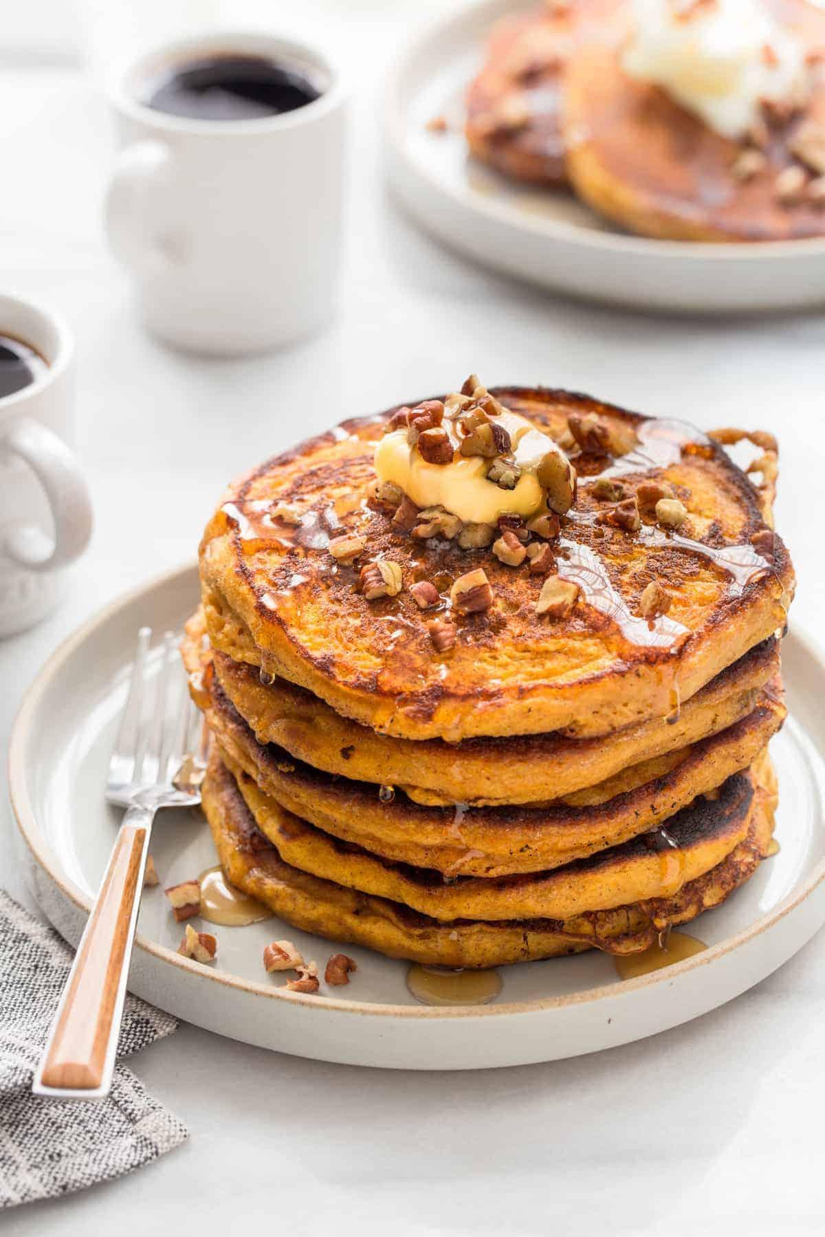 Pumpkin Pancakes Recipe My Baking Addiction