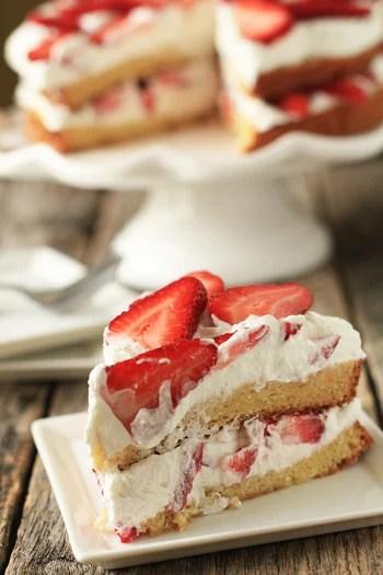 Angel Cake Strawberries Recipe